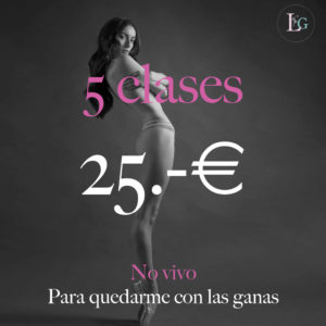 5 clases x 25.-€